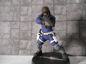 Cobra by Hasslefree Miniatures as Nick Fury.